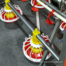 Bodenaufzuchtausrüstung Nippel PVC-Hühnchen-Bewässerungssystem