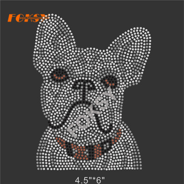 Lovely Dog Rhinestone Transfer Iron On Designs