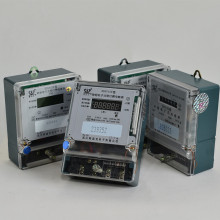 Einphasig zwei Drähte Prepaid Electric Energy Power Meter