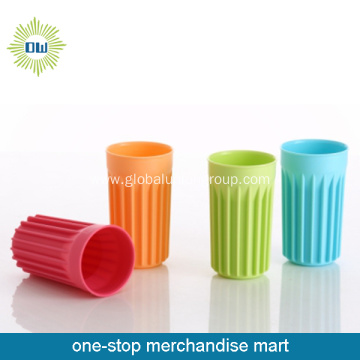Colorful Plastic Toothbrush Holder Cup