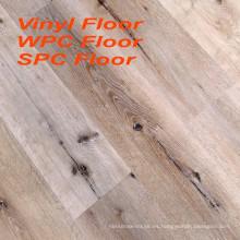 Impreso piso de PVC de PVC de 6 mm piso de vinilo de suelo de spc