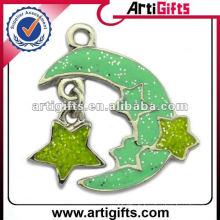 collier pendentif étoile et lune