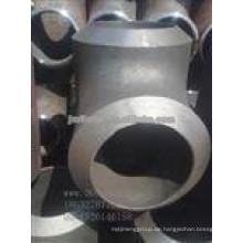 Große Dicke P235GH Stahl T-Stück für das Schweißen