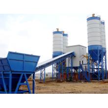 Hzs90 Fábrica Fixa de Armazenamento de Concreto
