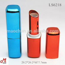 Wholesale Magnetic cosmetic shiny square empty custom lipstick tube