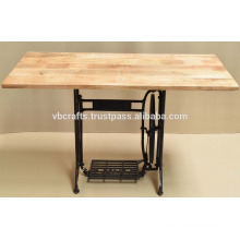 Reclaimed Sewing Machine Base Table