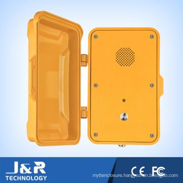 Tunnel Waterproof Telephone, IP67 Outdoor Telephone Industrial VoIP Emergency Telephone