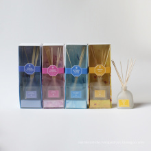 150ml scented reed diffuser in frosted glass bottle in box for home