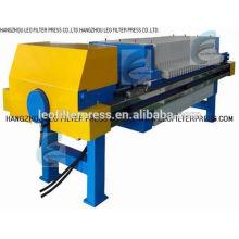 Prensa de filtro industrial de la prensa del filtro 800 de Leo, prensa de filtro hidráulica automática de la prensa de filtro de China Leo