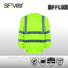 EN ISO hi vis workwear protective clothing safety sweatshirt Safety Uniforms
