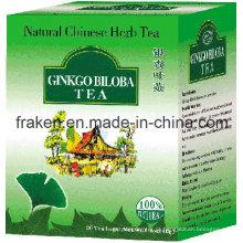 Ginkgo de alta qualidade Biloba Ginseng chá / chá Ginkgo Biloba