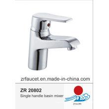 Robinet de lavabo en zinc en laiton haute qualité Hanlde