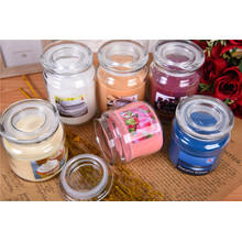 Custom Wedding Gift Decorative Glass Scented Candle