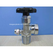 Chrome Brass Gas Cylinder Valve