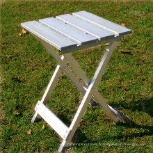 Tabouret se pliant d'alliage d'aluminium portatif extérieur, tabouret de barbecues de pêche