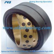 500 oiles sphrical plain bearing,GE.ES oil lubricated radial spherical bronze bush, OEM dg04 self-lubricating spherical bush