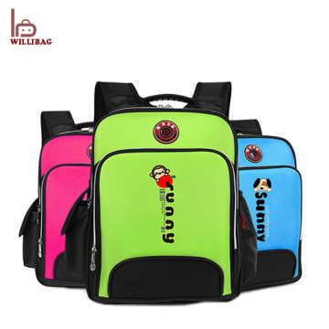 Cute design child backpack school bag cartoon kids school bag