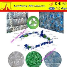 Ligne de lavage, broyage et séchage des bouteilles de déchets PET