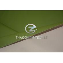 Tejido de revestimiento de película de transferencia de color verde