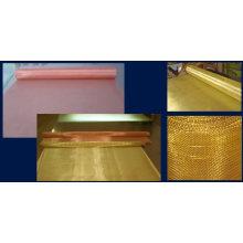 Fio de cobre do cobre que tece a malha do filtro
