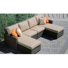 Patio Rattan Outdoor Hotel Furniture Garden Wicker Lounge Set