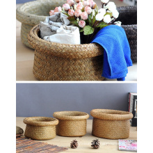 (BC-ST1069) High Quality Handcraft Natural Straw Basket