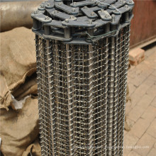 Ceinture de transport de grillage d'acier inoxydable de transport de nourriture
