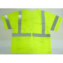 2015 Hi-Vis String Vest with Pockets
