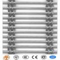 Malha de aço inoxidável da corda de fio de Luxry / malha decorativa