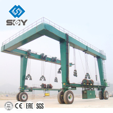 100 ton hydraulic 95 Countries Choosing International Boat lift Hoist Yacht Crane Price