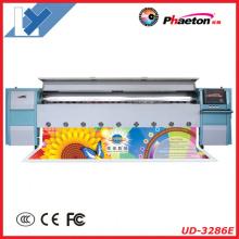 Novo Modelo Phaeton Ud-3286e 3.2 m Grande Impressora Solvente Foramt (Seiko 508GS Cabeça de Impressão, bom preço)