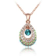 Позолоченные ювелирные украшения с бриллиантами персонализированные ожерелья чокеров