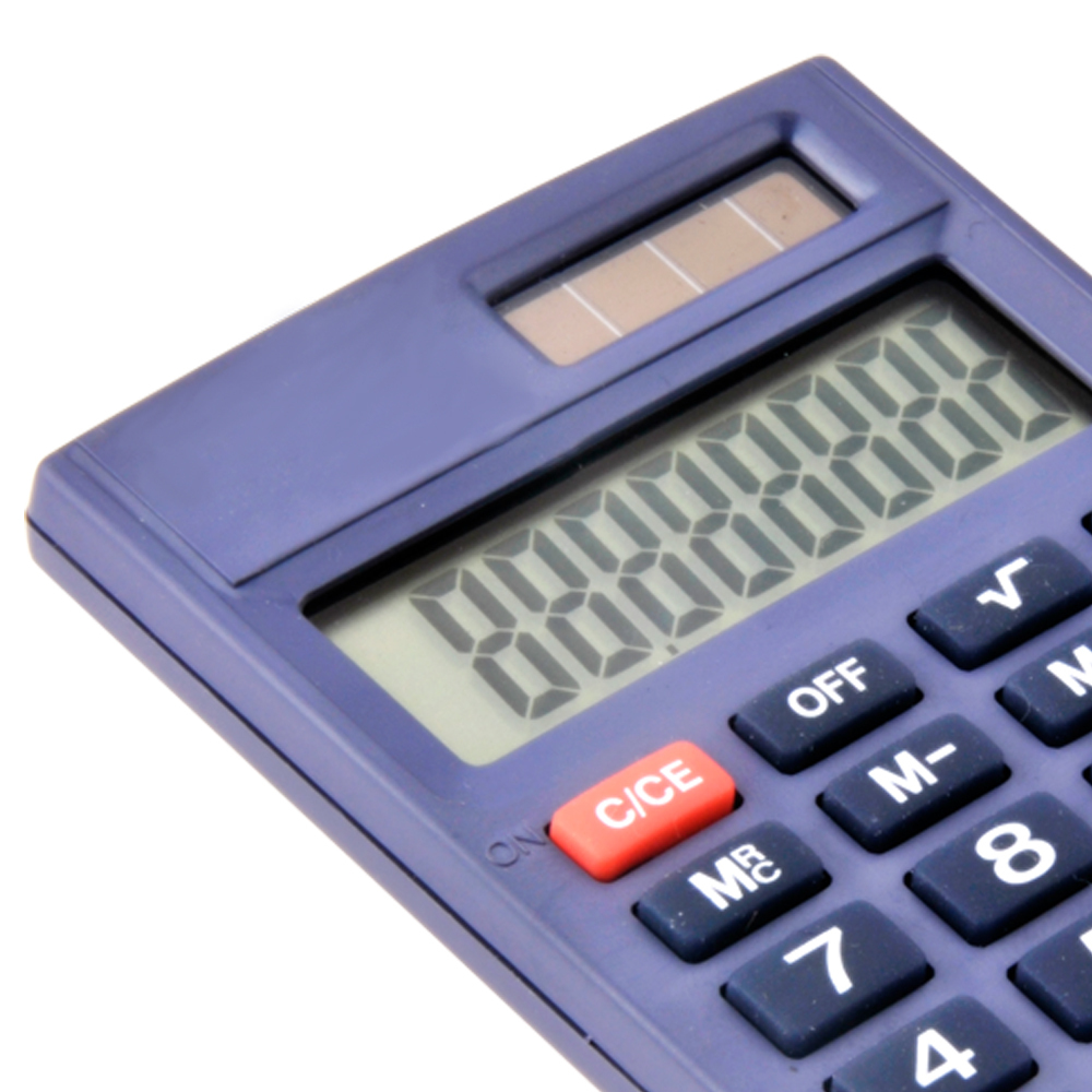 Hot Selling 8 Digits dual poder mini calculadora de bolso