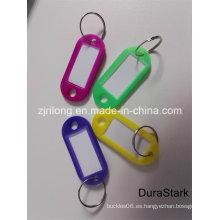 Tarjeta de signo a & clave de etiquetas y etiqueta y llavero de plástico y accesorios (DR-Z0161)