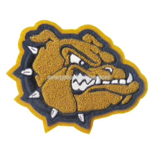 Dog Logo Chenille Patch for Garment