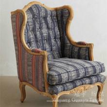 El lino mira la tela casera de la cubierta del sofá de la materia textil para la decoración casera