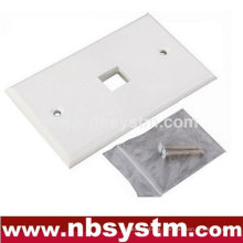 Face Plate 1 port, size:70x115mm