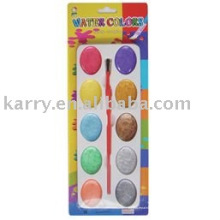 sechzehnfarbige metallische Wasserfarbe (feucht-trocken)