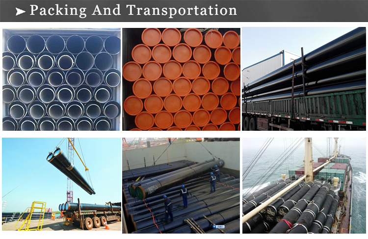 welded pipe transportation