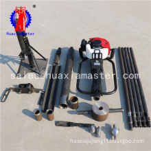 Supply gasoline-powered soil sampler portable the effect of undisturbed soil sampling drill is good One-man operation drill rig