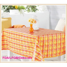 Cheap PVC /Plastic Table Cloth Wedding/Party Decoration