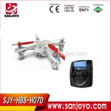 Hubsan X4 H107D 2.4Ghz 4ch rc quadcopter Video transmisión mini rc UFO