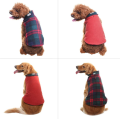 Dog Winter Clothes Reversible Fleece Jacket
