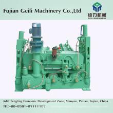 Machine de retrait et de ponçage pour le processus de coulée