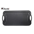 cast iron grill plate for double side
