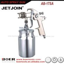 High Qulity HVLP Spray Gun plated nickel AB17model