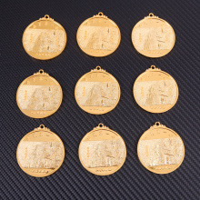 Champion gold metal medals