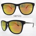 Óculos de sol de moda de acetato colorido à mão Srp554