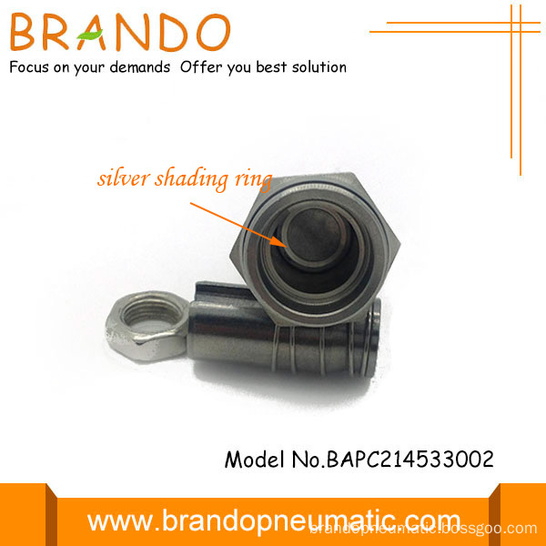 silver shading ring solenoid valve