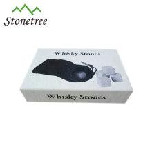 Whisky-Marmor kühlender Eiswürfelstein